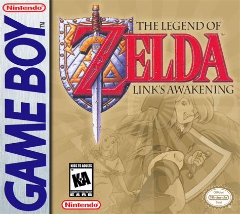 The Legend Of Zelda Links Awakening Box Arts