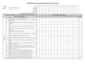 classroom checklist template besttemplates123