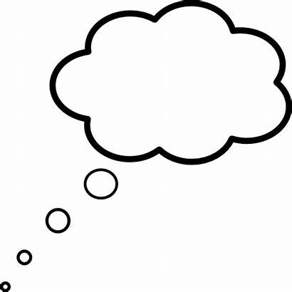 Cloud Thought Clip Scaled Clipart Clker Vector