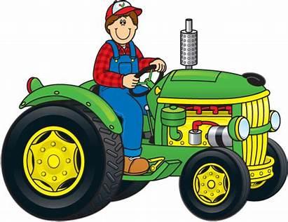 Tractor Farm Farmer Clip Clipart Farmers Bing