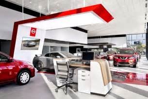 bmw car parking nissan 39 s retail design at nalley nissan of atlanta drive ride us