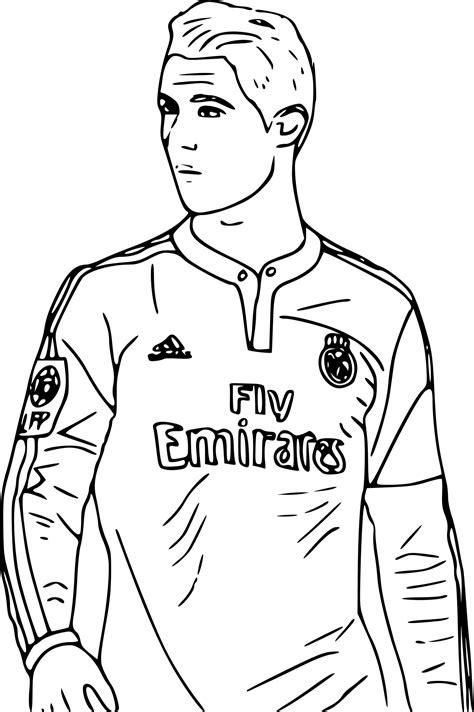 Ed Sheeran Kleurplaat by Voetbal Kleurplaat Ronaldo Kleurplatenvoorallecom