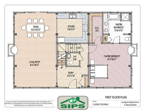 open floor plan colonial homes house plans pinterest