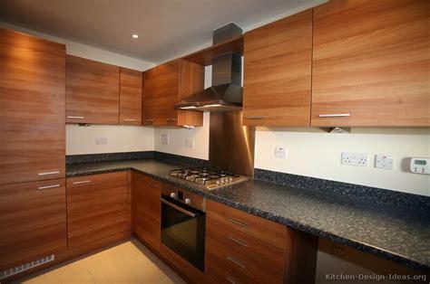 modern timber kitchen designs pictures of kitchens modern medium wood kitchen cabinets 7777