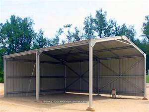 Hangar Metallique En Kit D Occasion : abri de jardin en metal 6 x 10 x 3 17m direct batiment ~ Nature-et-papiers.com Idées de Décoration