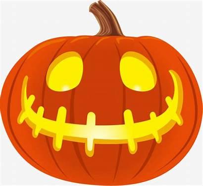 Pumpkin Halloween Lantern Clipart Jack Transparent Cartoon