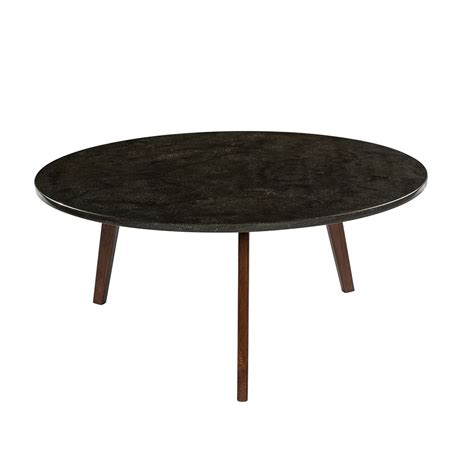 """The base can be white or black, while the top is available in carrara marble. Stella 31"""" Black Marble Table 