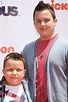 Noah Munck and his brother Ethan at the Nickelodeon iPARTY ...