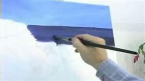 Comment Dessiner La Mer : comment peindre le ciel et la mer dessin art musique ~ Dallasstarsshop.com Idées de Décoration