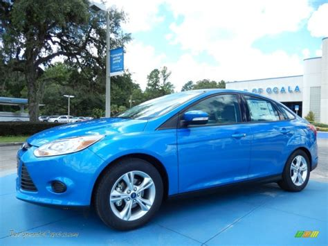 2014 ford focus se sedan in blue 127316 jax