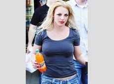 Bikini Niche Girls Britney Spears' Hard Pokie Nipples