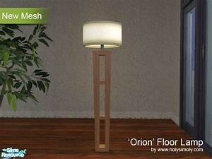 shtinky39s the 39orion39 floor lamp base in ash wood With sims 2 floor lamp