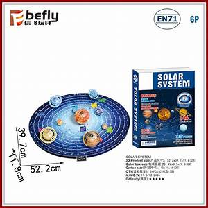 146pcs Diy Toy Solar System Science Set Educational Paper ...