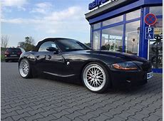 BMW Z4 E85 with KW suspension & 19 inch BBS LM wheels