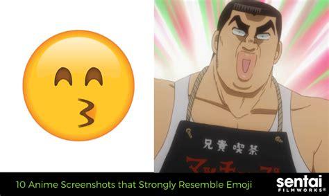 10 Anime Screenshots That Strongly Resemble Emoji