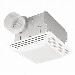 Cfm broan ventilation fan light combo bathroom