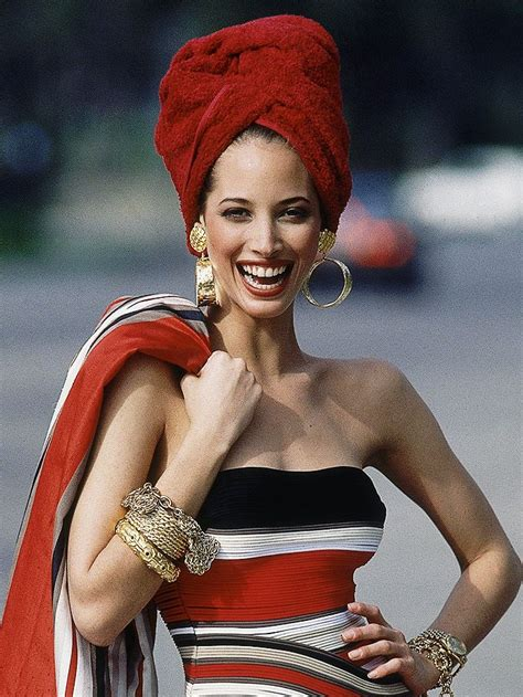 honesty christy turlington    supermodel