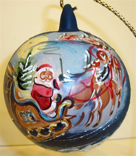 christmas glass german american polish pewter ornaments