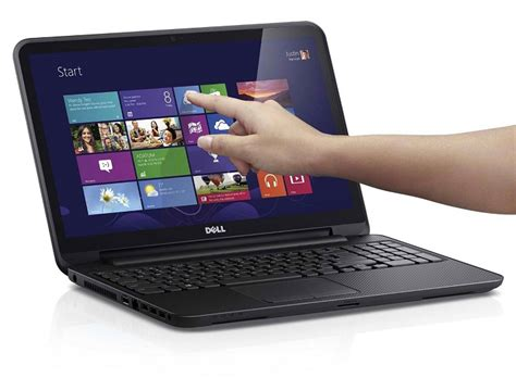 Dell Inspiron I15RVT-6195BLK Cheap Touch Laptop with Intel