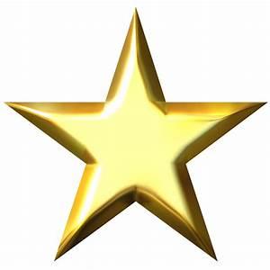 Gold star star no background clipart - Clipartix