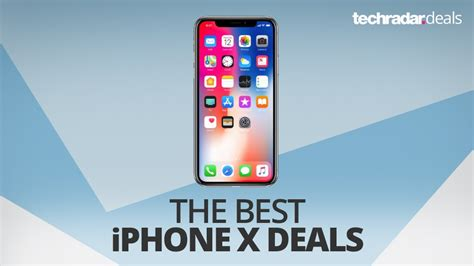 the best iphone x deals in august 2018