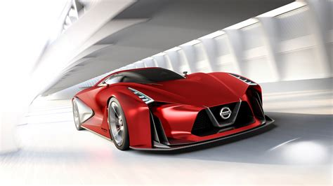 2020 Nissan Gran Turismo by Nissan Concept 2020 Vision Gran Turismo 2 Wallpaper Hd