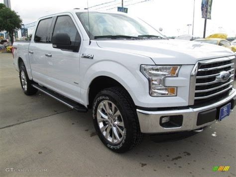 ford truck white 2015 oxford white ford f150 xlt supercrew 4x4 102966067