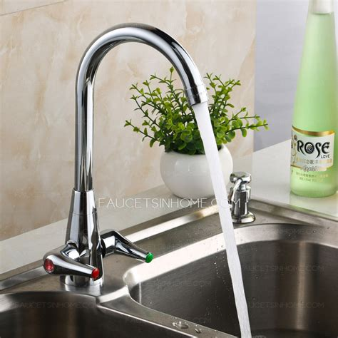 best stainless steel kitchen faucets best stainless steel kitchen faucet double handles