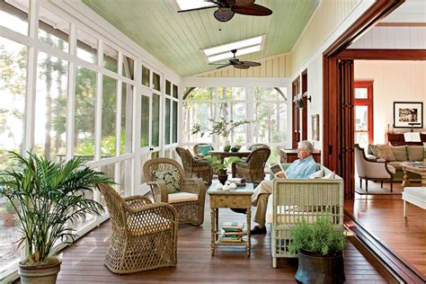 screened porch lowcountry style house southern living