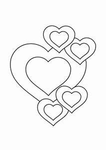 Herzen Zum Ausmalen : liebeskarten zum ausdrucken und ausmalen ~ Buech-reservation.com Haus und Dekorationen