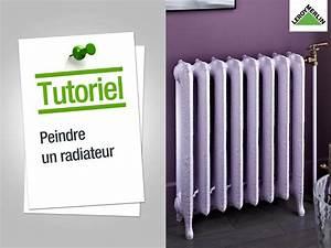 peindre un radiateur en fonte systembaseco With peindre radiateur en fonte