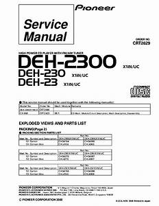 Pioneer Avh 2300 Wiring Diagram