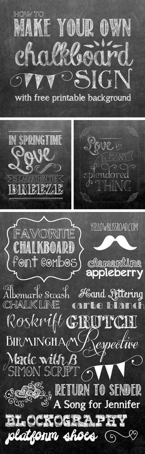 Nest Of Posies Free Chalkboard Fonts & Dingbats