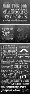 How to make your own printable chalkboard sign yellow for How to make a chalkboard sign