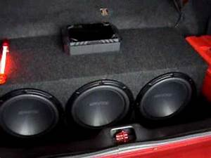 Crown Vic Car Audio Setup - YouTube