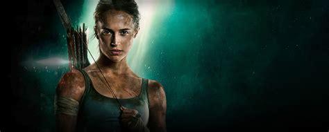 Tomb Raider 2018 Movie Alicia Vikander Poster, Hd Movies