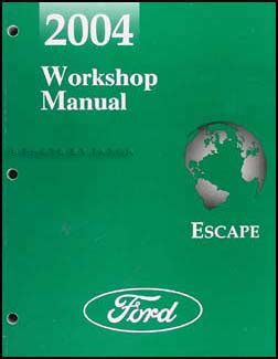 free car manuals to download 2004 ford escape navigation system 2004 ford escape wiring diagram manual original