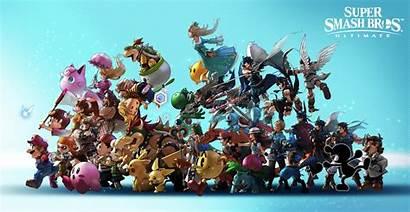 Smash Bros Ultimate Super Wallpapers 4k Background