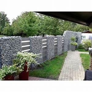 wpc gartenzaun set in anthrazit 200cm jardineria With feuerstelle garten mit französischer balkon ral 7016