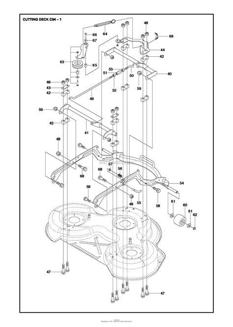 husqvarna    parts diagram  cm