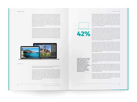 white paper template  indesign  behance