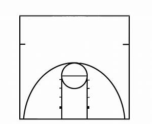 Basketball Half Court Diagram