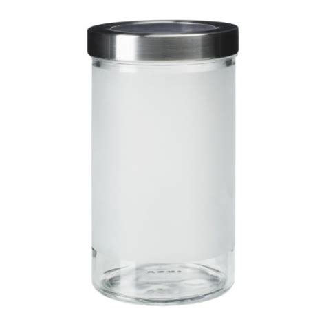 ikea pot en verre droppar bocal avec couvercle ikea