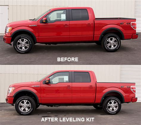 Level Your Ford F150, F250 Or F350 With A Leveling Kit By