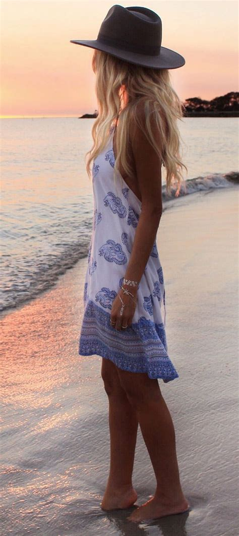 25+ best ideas about Beach Dresses on Pinterest | Boho style clothing Beach outfits 2016 and ...