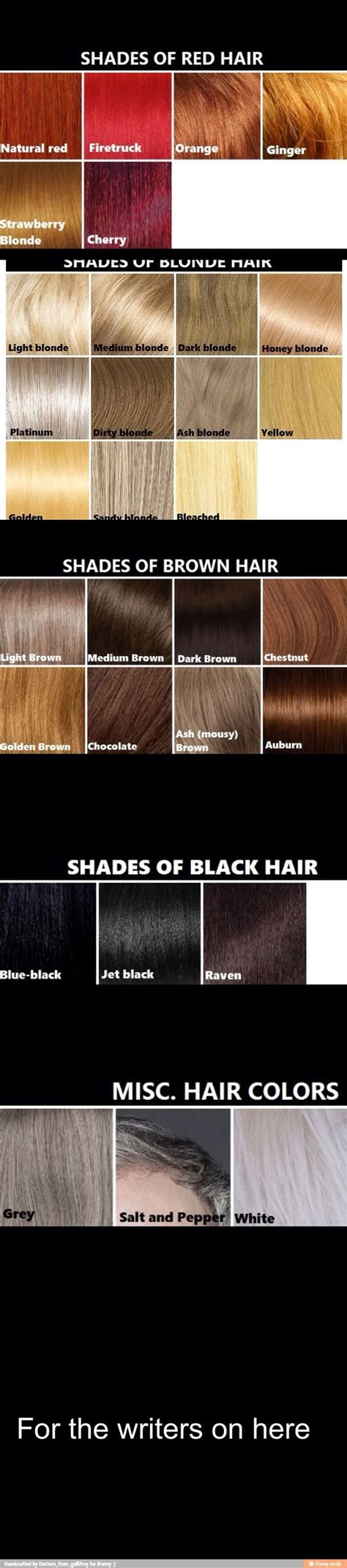 Hair Color Descriptions by 25 Best Ideas About Writing Characters On