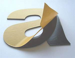Plastic letters for Self adhesive letters for walls