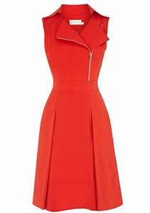 Red Ruffle Zipper Notch Lapel Wrap Polyester Dress - Mini ...