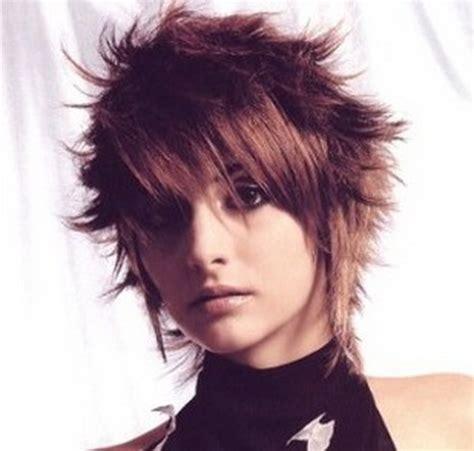 spiky short haircuts