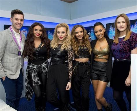 Little Mix Hang Out With Rich And Kat Before Hitting
